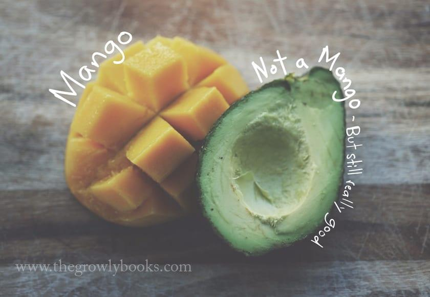 mangoes - the growly books
