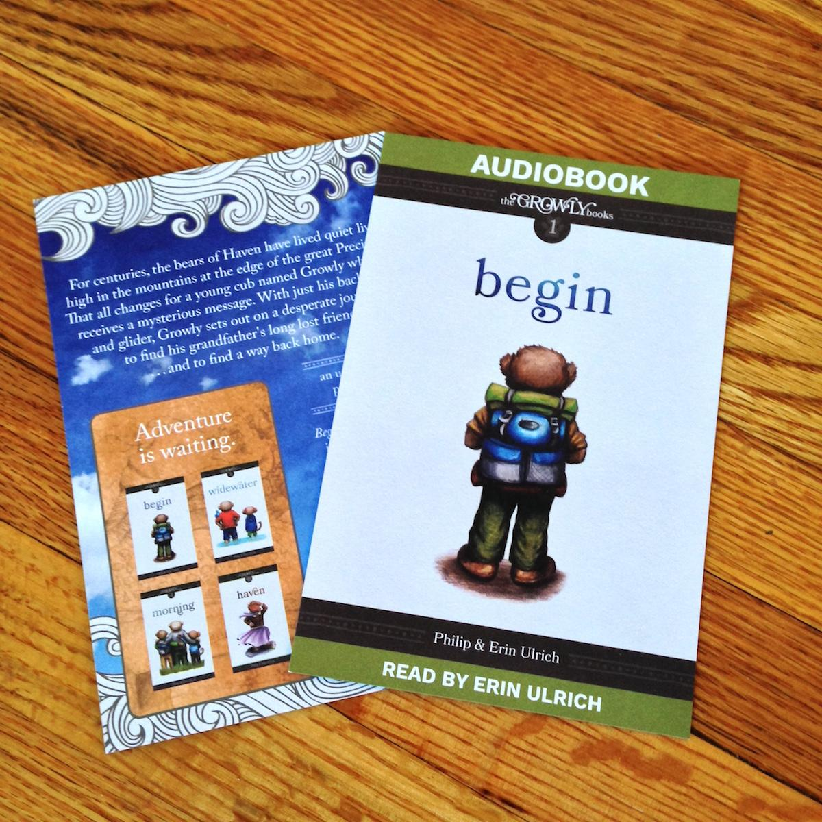 Begin Audiobook Insert