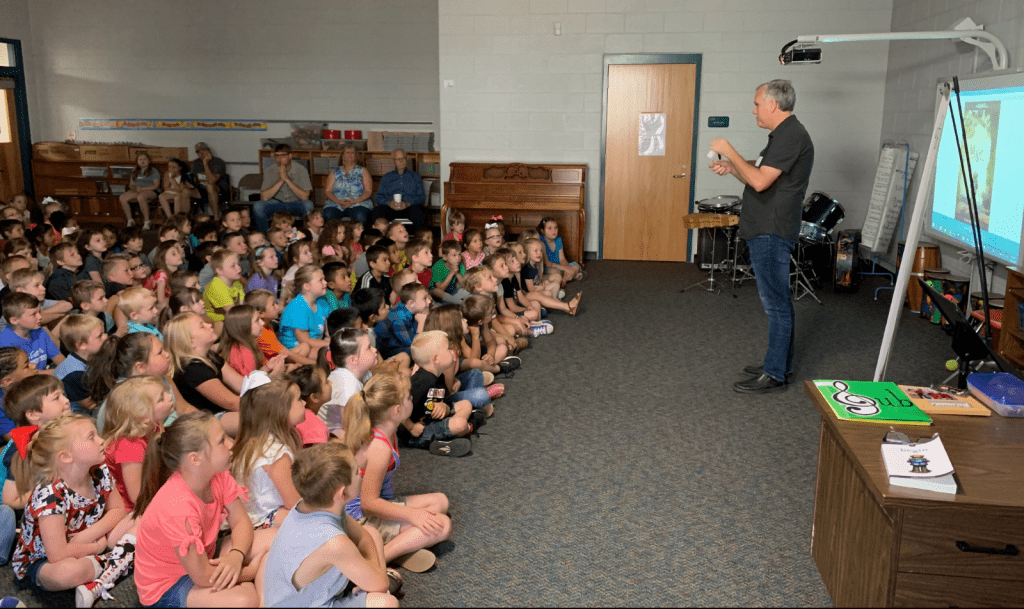 Philip Ulrich Author Visit at Slater Elementary