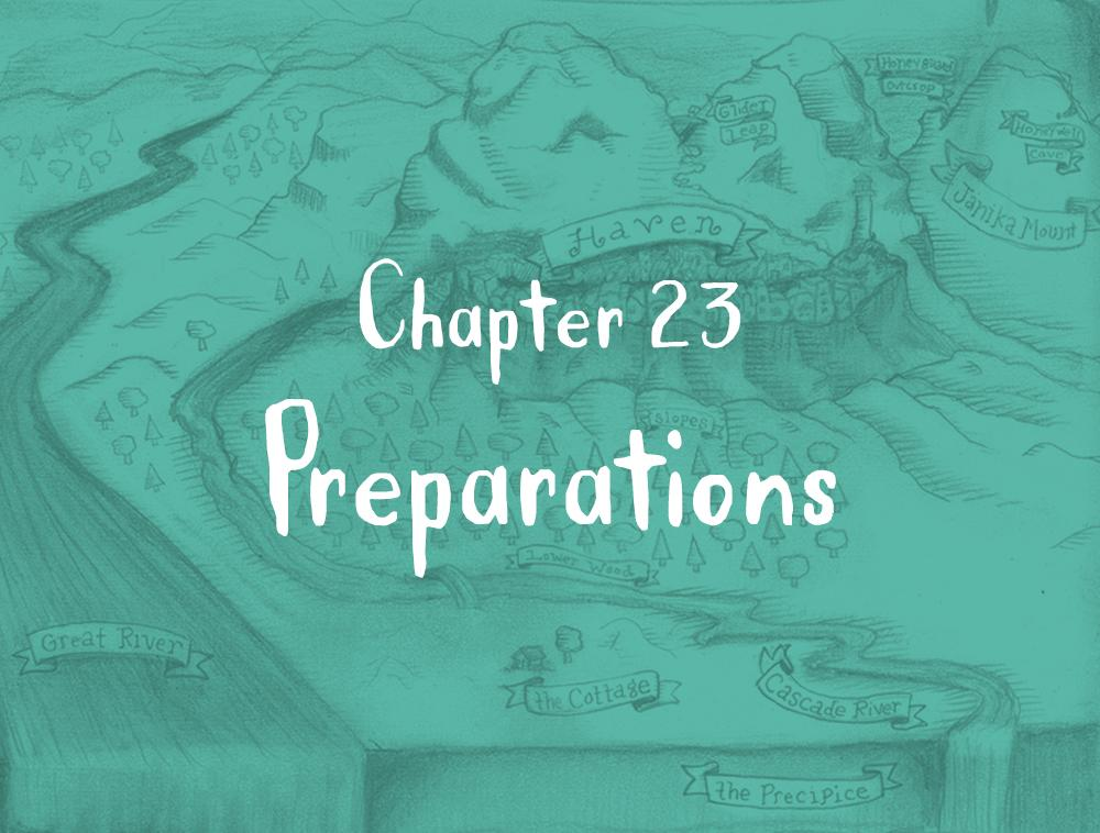 Chapter 23: Preparations